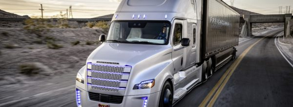 self-driving lorry science fiction?